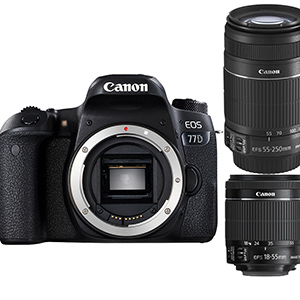 Canon 單眼相機 18-55mm+55-250mm